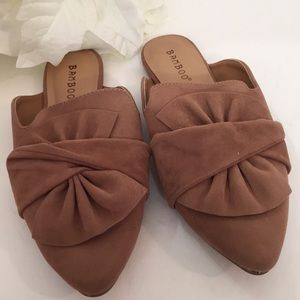 🌼Bamboo slippers flats🌼